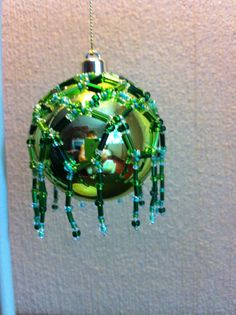green bauble style 2