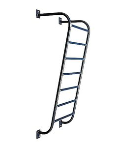 Designed for upper body development. Fabricated of heavy-duty fully welded tubular steel. The rungs are 20