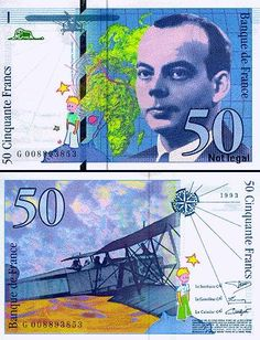 St. Exupery French Francs