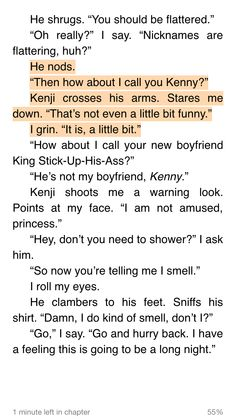 KENJI and JULIETTE, shatter me