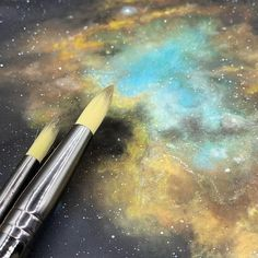 To learn how to create your own galaxies take a look at my Skillshare classes.  Link on my Instagram Profile  #skillshare #skillshareclass #watercolor #watercolorpainting #galaxypainting #watercolorarts #watercolornebula #cosmos #nebula Watercolor Galaxy, Galaxy Painting, Galaxies, Watercolor Paintings, Craft Projects, Cosmos, Photo And Video, Profile, Create