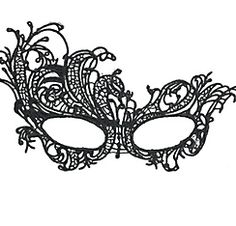 Lace masquerade masks templates google search for Masquerade ball masks templates