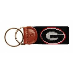 There is a GA Tech one that would be great for Richard. Needlepoint Key Fob in Black by Smathers & Branson