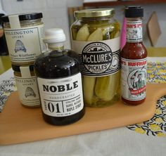 We are expanding our deli range with some new delicious items from Product Distribution: McClures Pickles are closest in resemblance to your grandmother's dill pickles. Crunchy and fresh with a strong sour taste, complimented by notes of garlic and dill. Noble maple syrup procures medium dark grade maple syrup from heritage sugar shacks in the ancient maple orchards of quebec & new hampshire. Special pancakes!