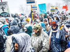 Social Media Made the World Care About Standing Rock—and Helped It Forget       Credit:On December 5, 2016, veterans and water protectors marched in Standing Rock after the Army Corps denied the easement needed to continue construction of the pipeline.    From WIRED.com