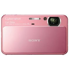 Sony DSC-T110 Digital Camera Pink (194.435 CLP) ❤ liked on Polyvore featuring fillers, electronics, accessories, camera and pink