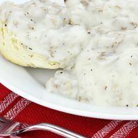 Crockpot biscuits and gravy