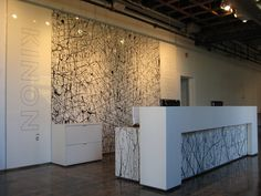 reception wall panelling - Google Search