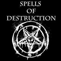 Black Magic: Spells of Destruction: Magick Black Magic Spell Book, Real Black Magic, Black Magic Love Spells, Real Magic Spells, Blood Magick, Magick Spells, Wiccan, Wicca Love Spell, Witch Spell