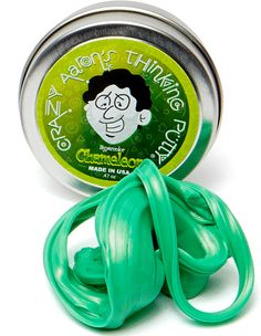 Stretch, pull, twist and fidget with Crazy Aaron's Thinking Putty