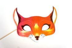 What Does The Fox Say Photo Booth Prop  Fox Prop  by TheManicMoose, $6.00