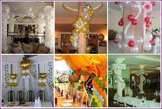 Dekoracje kolumn do ślubu - pomysłów z własnymi rękami ze zdjęciami