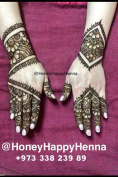 Simple design Bridal Henna Designs, Simple Mehndi Designs, Mehandi Designs, Eid Henna, Arabic Henna, Alphabet Images, Festival Image, Henna Body Art, Wedding Henna