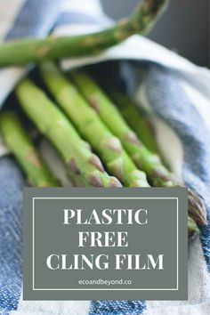 Are you trying to remove all single-use plastic from your life? If yes, awesome! Have you thought about swapping out cling film for something more eco friendly? There are some great substitutes for plastic wrap on the market. They'll have you saying goodbye to cling film – and consuming less plastic – in no time! #plasticfree #zerowaste #ecolifestyle #greenliving Reusable Sandwich Bags, Leftovers Recipes, Plastic Wrap, Free Tips, Food Waste, Food Containers, Sustainable Living, Safe Food, Eco Friendly