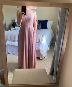 Blush Colored Bridesmaid Dresses, Mob Dresses, Formal Dresses, Recycled Bride, Dusty Rose, Prom, Modern, Wedding, Fashion