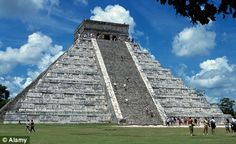 Chichen Itza, Yucatan, Mexico - We climbed this some years ago  it was really cool.  Went inside the interior annex room of the interior.  So cool! If U go- bring lots of water with ya to drink!!