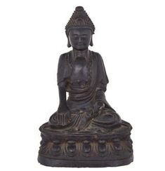 Curled Hairstyles, Top Knot, 17th Century, Buddhism, Bronze, Poses, Statue, Antiques, Vintage
