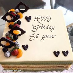 I Have Written Sai Kumar Name On Cakes And Wishes This Birthday Wish It