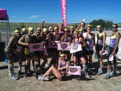 Lady MHF'ers - Kiss Me Dirty Race!! #CrossFitMHF