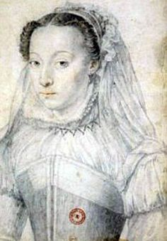 Marie of Cleves, Princess of Condé wife of Henri I prince de Condé French History, Tudor History, Rey Enrique, Portrait Renaissance, Jean Fouquet, Duc D'anjou, Wives Of Henry Viii, Anne Of Cleves, Royals