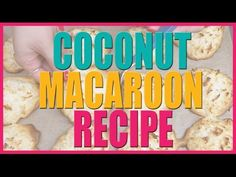 She Starts By Placing This Coconut Mixture Onto A Baking Sheet And Ends With Pure Deliciousness - NewsLinQ
