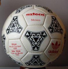 Balones del Mundial de México 1986