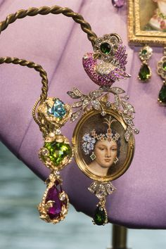 Dolce&Gabbana Alta Gioielleria in Lake Como, July Couture Collection, Jewelry Collection, Art Necklaces, Moda Fashion, Women's Fashion, High Jewelry, Italian Fashion, Making Ideas, Jewelery