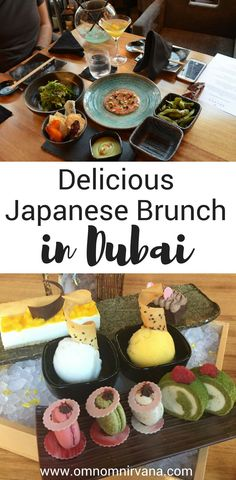 If you've never had Japanese food for breakfast, you'll want to check out Katana's Red Sun brunch in Dubai. It was a delicious experience with a fantastic view and a relaxing atmosphere. Check out what our favorite parts were about this delicious Japanese restaurant and why we can't wait to go back! Don't forget to save this to your food board. #dubai #dubaifoodblogger #dubaifood #dubairestaurant #japanesefood #brunch