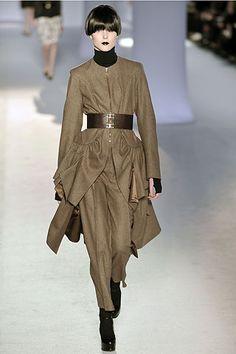Yves Saint Laurent fall 2008 ready to wear collection. See more: #YvesSaintLaurentAtFip, #FashionInPics