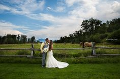 eMarie Photography Montana Wedding Photography #mountainwedding #weddinghorses