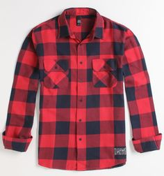 A great women's red buffalo plaid shirt here - I've got one from Old Navy and one from Woolrich.