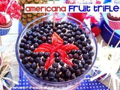 dessert ideas - recipes for Memorial Day @eyecandycreate #fruittrifle
