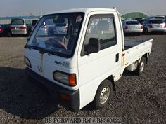 Used 1992 HONDA / Acty Truck (V-HA4) A/C / Mileage: 66,390km / Steering:Right / Color:White http://niji7.com/maker/honda/model/acty-truck/id/464395 #usedcars #beforward