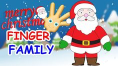 Christmas Finger Family Song | Finger Family Santa Claus | Santa Claus |...