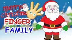 Christmas Finger Family Song   Finger Family Santa Claus   Santa Claus  ...