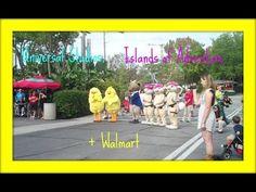 Orlando Vlog - Universal Studios, Islands of Adventure and Walmart - YouTube