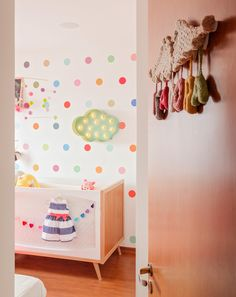 Quarto Isadora | Isabela Bethônico Arquitetura. Belo Horizonte / Babyroom / Babygirl / Sonho / Cores / Cute /