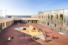 Gallery of Bezons Angela Davis School / archi5 + Tecnova Architecture - 4