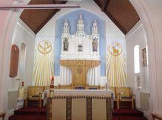 St. Paul's Cathedral, Nicosia, Cyprus. Nicosia Cyprus, Valance Curtains, Cathedral, Wedding Decorations, Home Decor, Decoration Home, Room Decor, Cathedrals, Wedding Decor