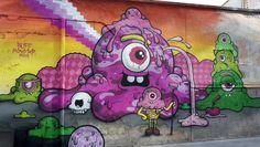 Street Art Photography, Sardinia Italy, Street Art Graffiti, Street Artists, Urban Art, Italy Travel, Art Boards, Food Art, Chibi