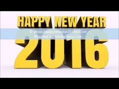 Happy New Year 2016 Wallpapers, New Year Images 2016, New Year 2016 Pictures - YouTube
