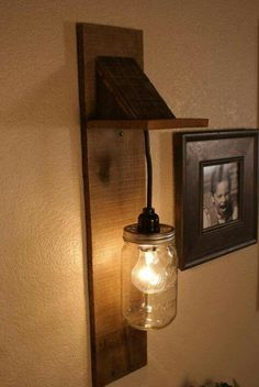 Mason jar light-