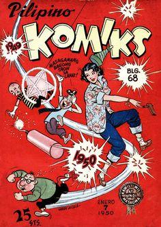 PILIPINO KOMIKS #68 Cover by Larry Alcala