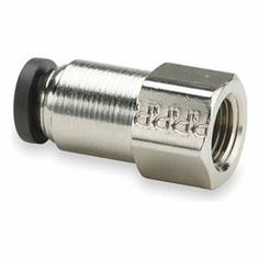 Female Connector, PrestoWeld(TM), 5/16 In by Parker. $11.96. PrestoWeld Weld Splatter-Resistant Nickel-Plated Brass FittingsSilicone-free fittings are specifically designed for use in robotic welding industry pneumatic control applications; won't melt or come undone if hit by weld spatter. Lubricated nitrile O-ring and stainless steel grab ring fit robotic arms and ensure positive tube retention; release easily with the push of a button.Max. pressure: 300 psiTemp...