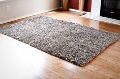 Large Carpet made fr/ 4 bath mats?! ~ Finding my Aloha blog