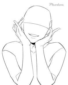 Art Reference Cute Drawings - Art World Body Reference Drawing, Drawing Body Poses, Anime Poses Reference, Drawing Tips, Figure Drawing, Drawing Ideas, Hand Reference, Drawing Drawing, Drawing Tutorials