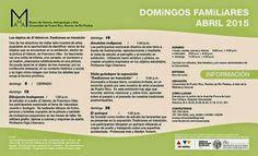 "PUERTO RICO ART NEWS: Calendario de Actividades ""Domingos Familiares"" Ab..."