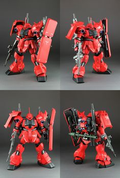 Geara Doga Full Frontal Use by Kouichi | Gundam Century