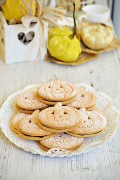 Halloween Pumpkin biscuits gluten free