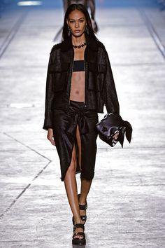 Joan Smalls Photos: Versace - Runway - Milan Fashion Week SS16
